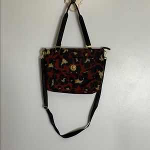 Baggallini floral tote purse bag